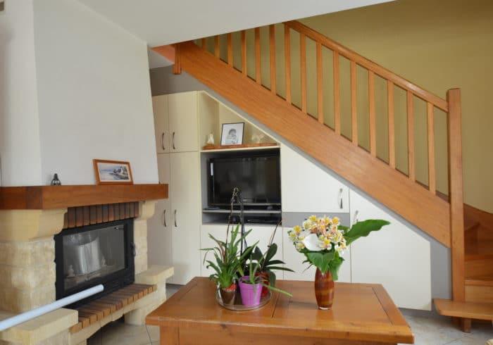 Réalisation placard sous escalier sur mesure Morbihan