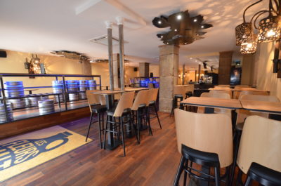 Agencement d'un bar à Nantes