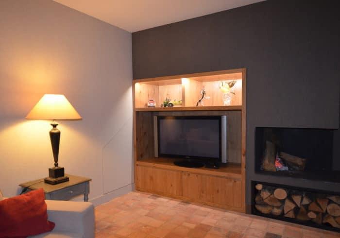 meuble tv sur mesure Morbihan