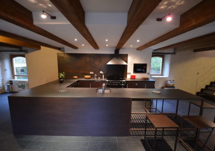 Réalisation cuisine sur mesure Morbihan