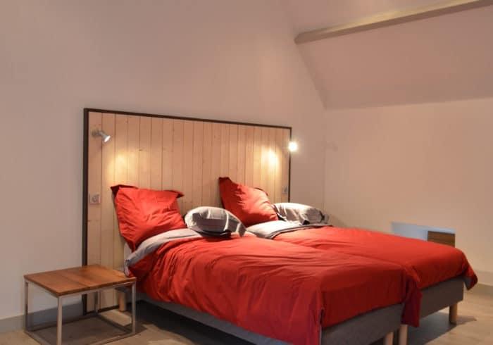 Aménagement intérieur chambre sur mesure Morbihan