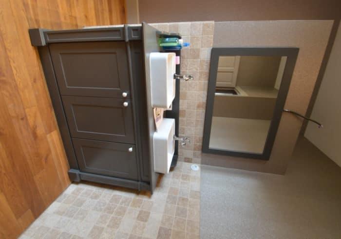 Réalisation meuble salle de bain sur mesure Morbihan